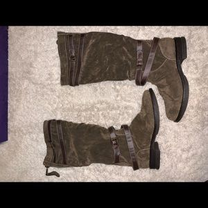 BRAND NEW ! Brown Knee-high Madden Girl Boots
